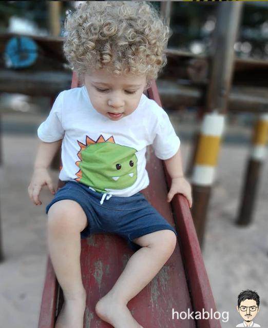外国人の子供のヘアスタイル