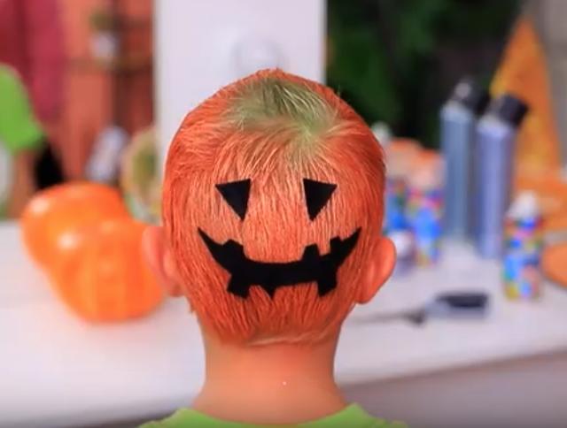 かぼちゃのオバケ。ハロウィンスタイル