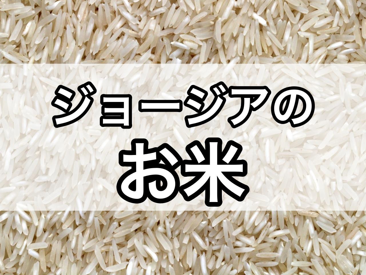 お米とは?トビリシ在住者がジョージアのお米を解説します!