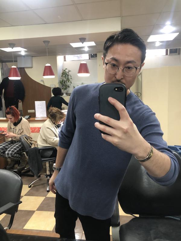 ジョージアの日本人美容師