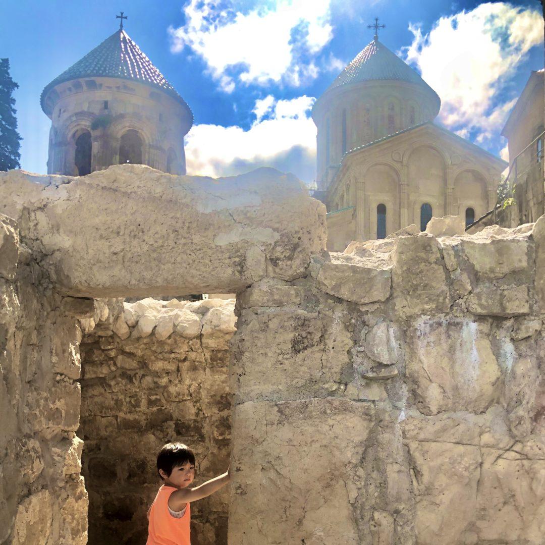 ゲルゲティ修道院 ジョージア一周旅行