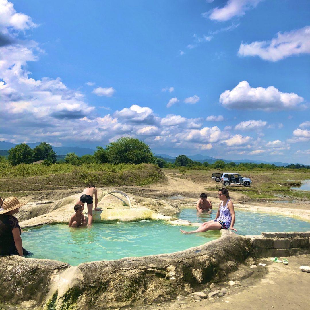 ジョージア一周 vani hot spring