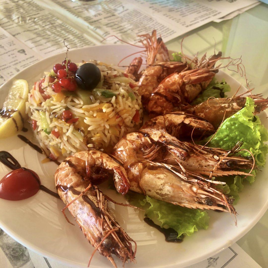 ジョージア レストラン バトゥミ