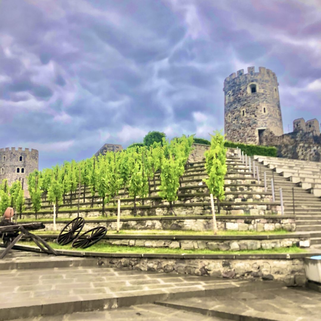ファミリーで満喫♪ジョージア旅行 Rabati Castle